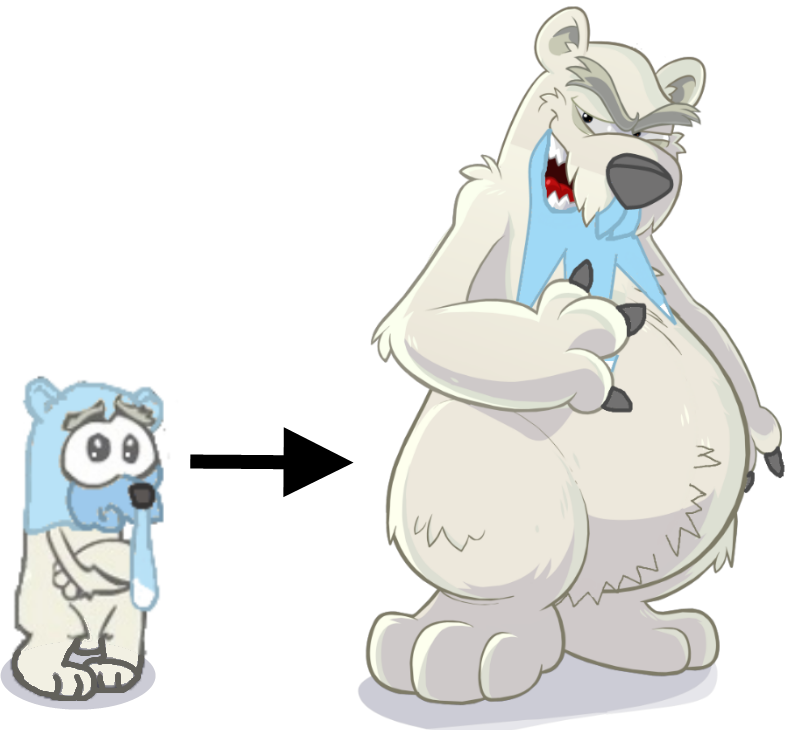 Pokemon Teddiursa And Cubchoo Pokemon Beartic And Cubchoo