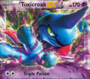 Toxicroak EX (Flashfire 41)