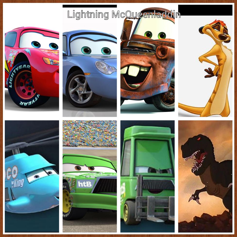Lightning Mcqueenladdin The Parody Wiki