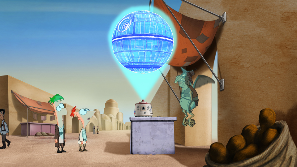 Phineas And Ferb Star Wars Phineas And Ferb Wiki Wikia
