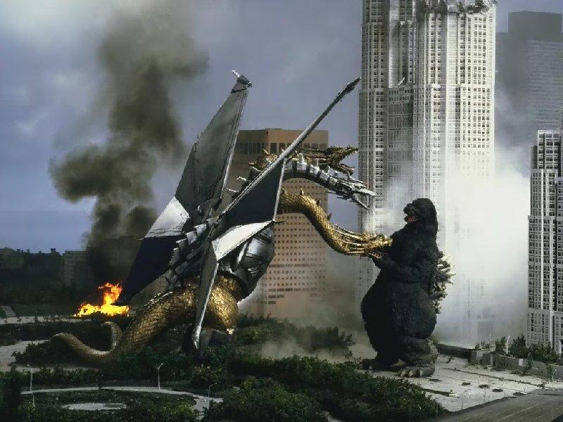 Godzilla Vs Mecha King Ghidorah Image - Godzilla-vs-Ki...