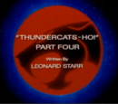 ThunderCats Ho! - Part IV