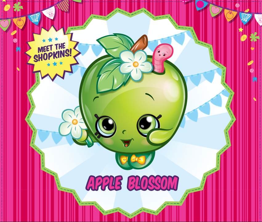 Free coloring pages of shopkins