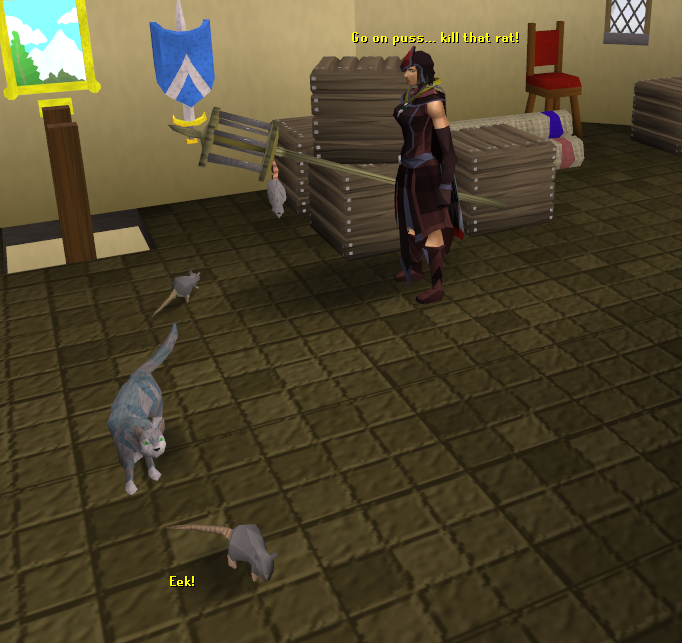Runescape Is There A Way To Get Back Cat