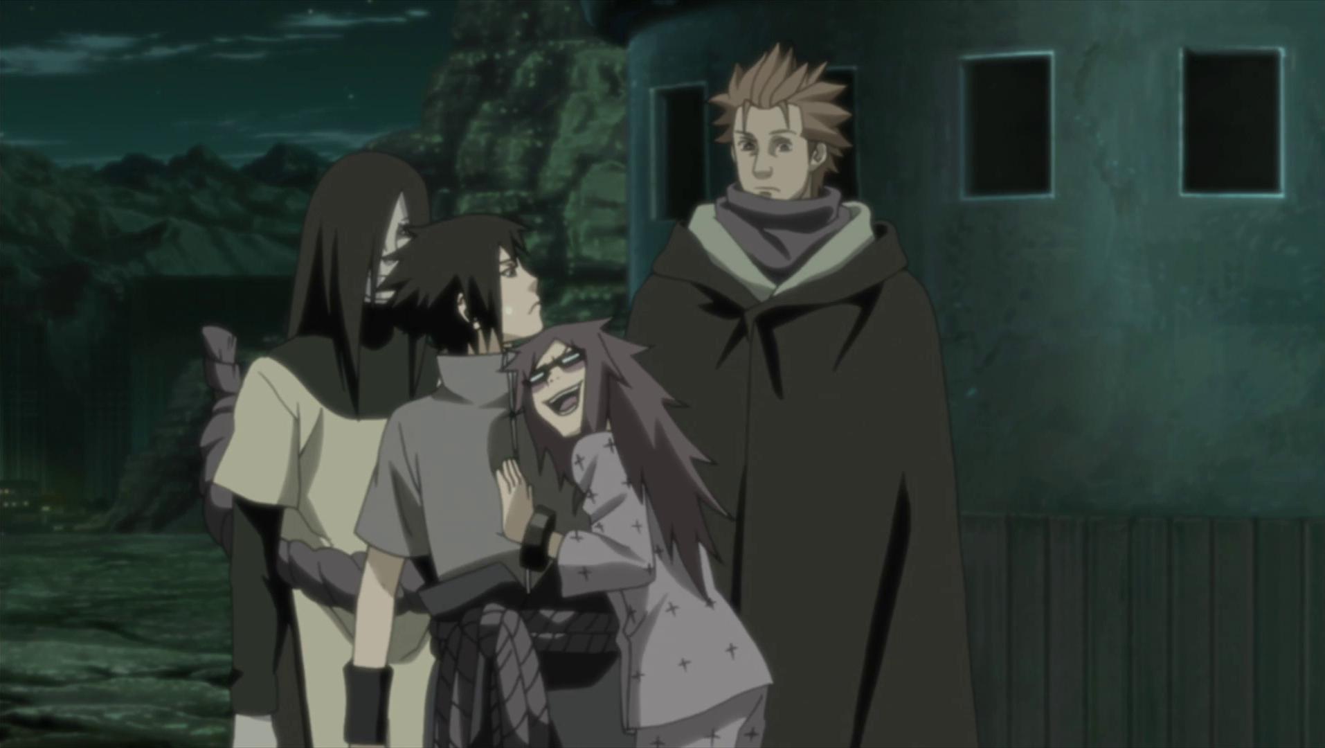 Karin forgives Sasuke