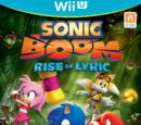 Sonic Boom: Rise of Lyric images