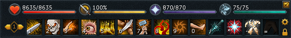 runescape how to add action bars