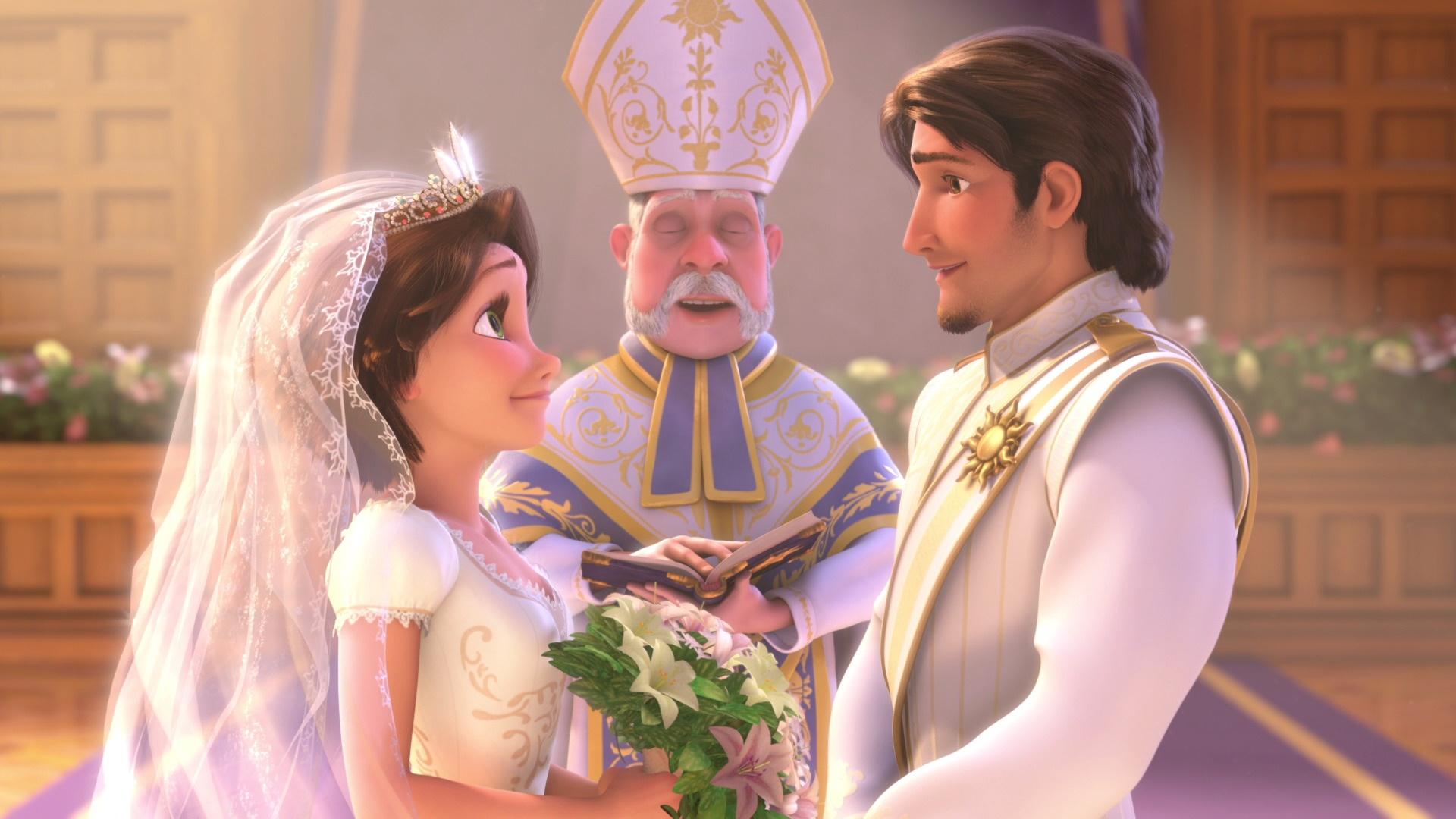 Rapunzel And Eugene Wallpaper Rapunzel With Eugene in