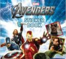 The Avengers: Reusable Sticker Book