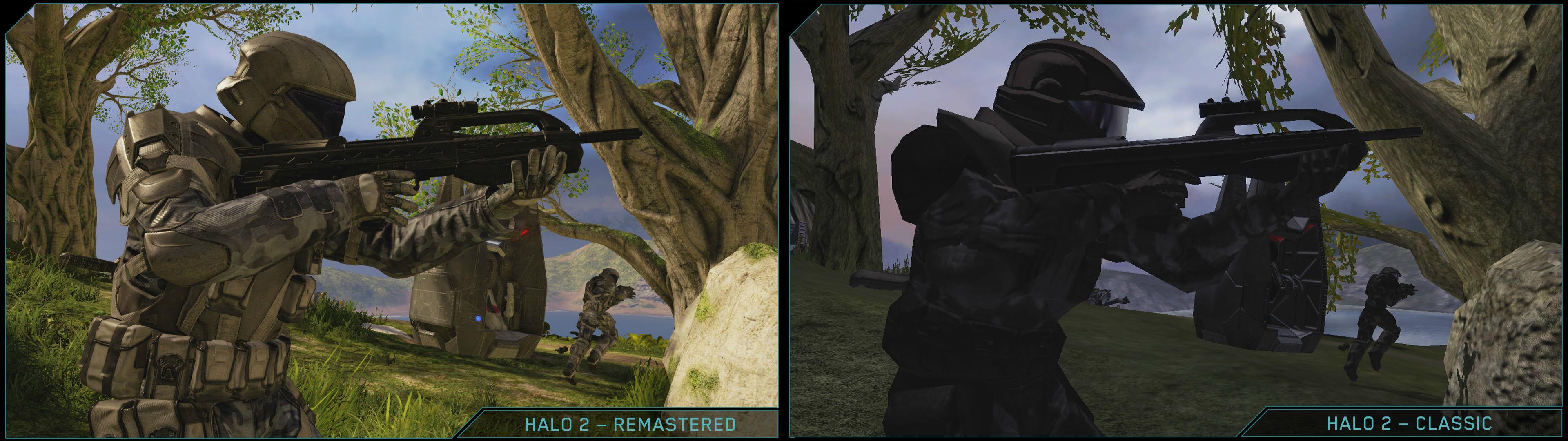Halo 2 Anniversary Gravemind Comparison Halo 2 Anniversary New Looks