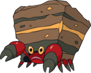 Pokemon Crustle Evolution Crustle - The Pok&#233...