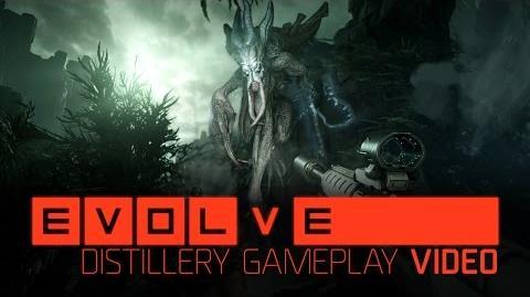 Demo de Evolve gameplay de la Destilería