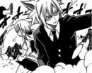 Lucy and Loke fight Tartaros.png