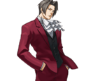 Ace Attorney Investigations: Miles Edgeworth Character Images