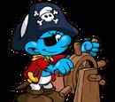 Pirate Smurf