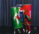 Coke, Pepsi, and 7-Up