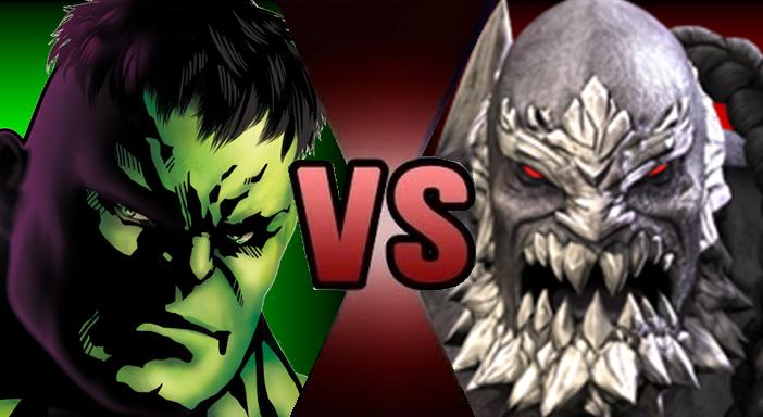 Hulk vs. Doomsday - Death Battle Fanon Wiki Doomsday Vs Hulk Death Battle