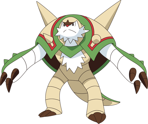 Pokemon X And Y Chesnaught Mega Evolution | www.imgkid.com ...