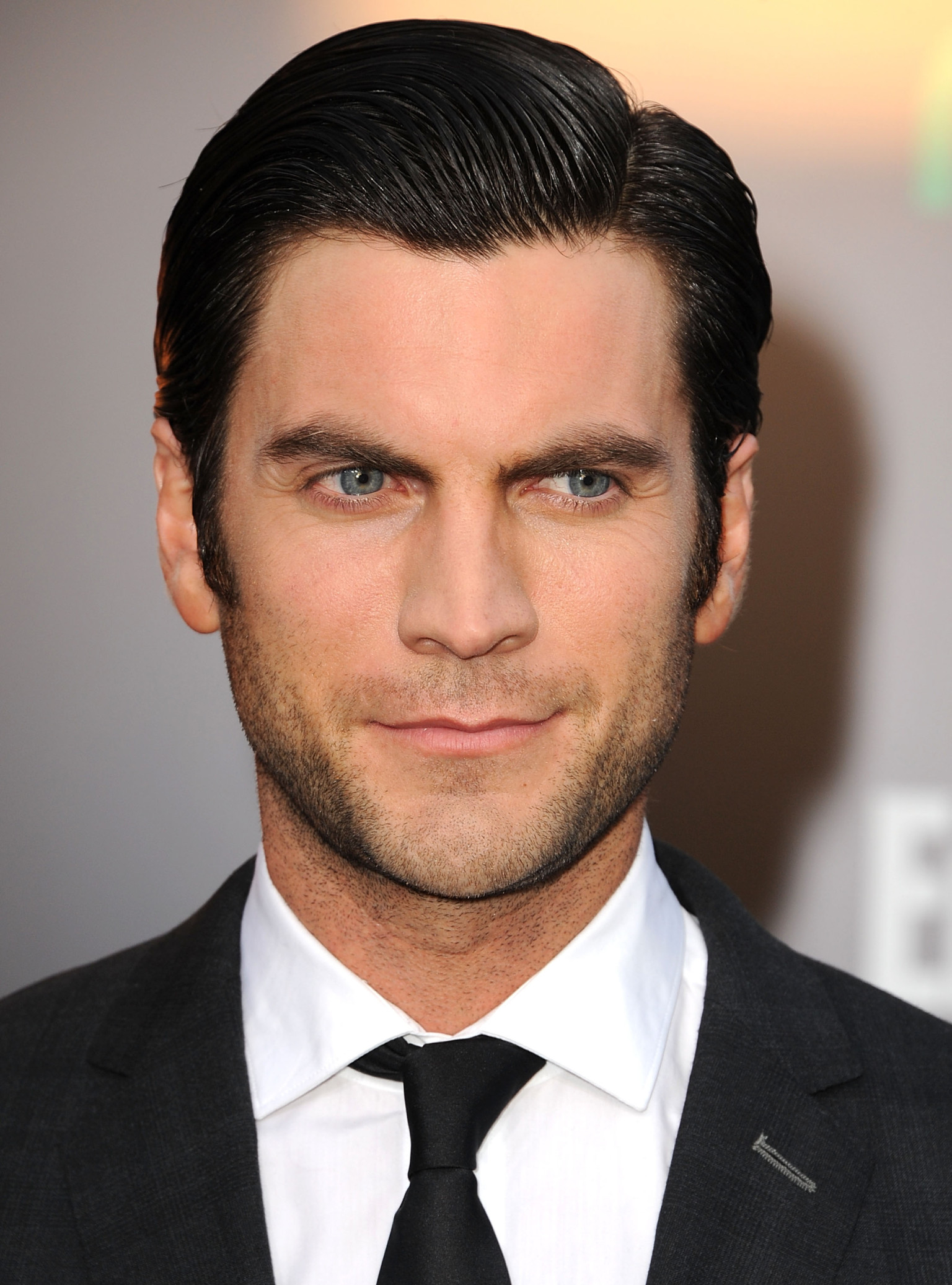The 39-year old son of father David Bentley and mother  Cherie Baker, 180 cm tall Wes Bentley in 2018 photo