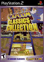 Capcom Classics Collection PS2 cover