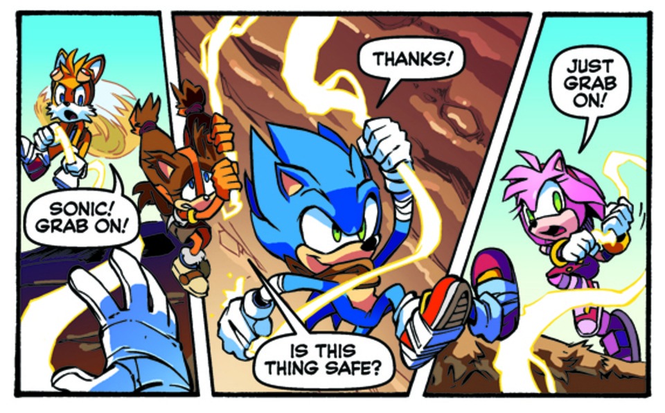 Sonic And The Secret Rings Online