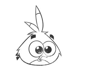 Angry Birds Stella Coloring Pages Willow