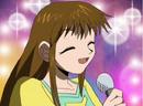 Megumi feliz de haber conocido a Zatch y Kiyomaro.png