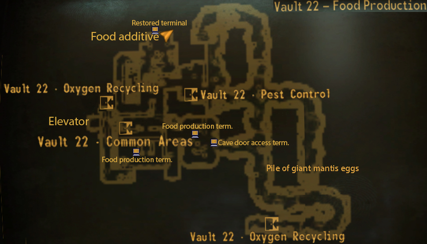 Vault 22 the fallout wiki fallout new vegas and more for Production vault