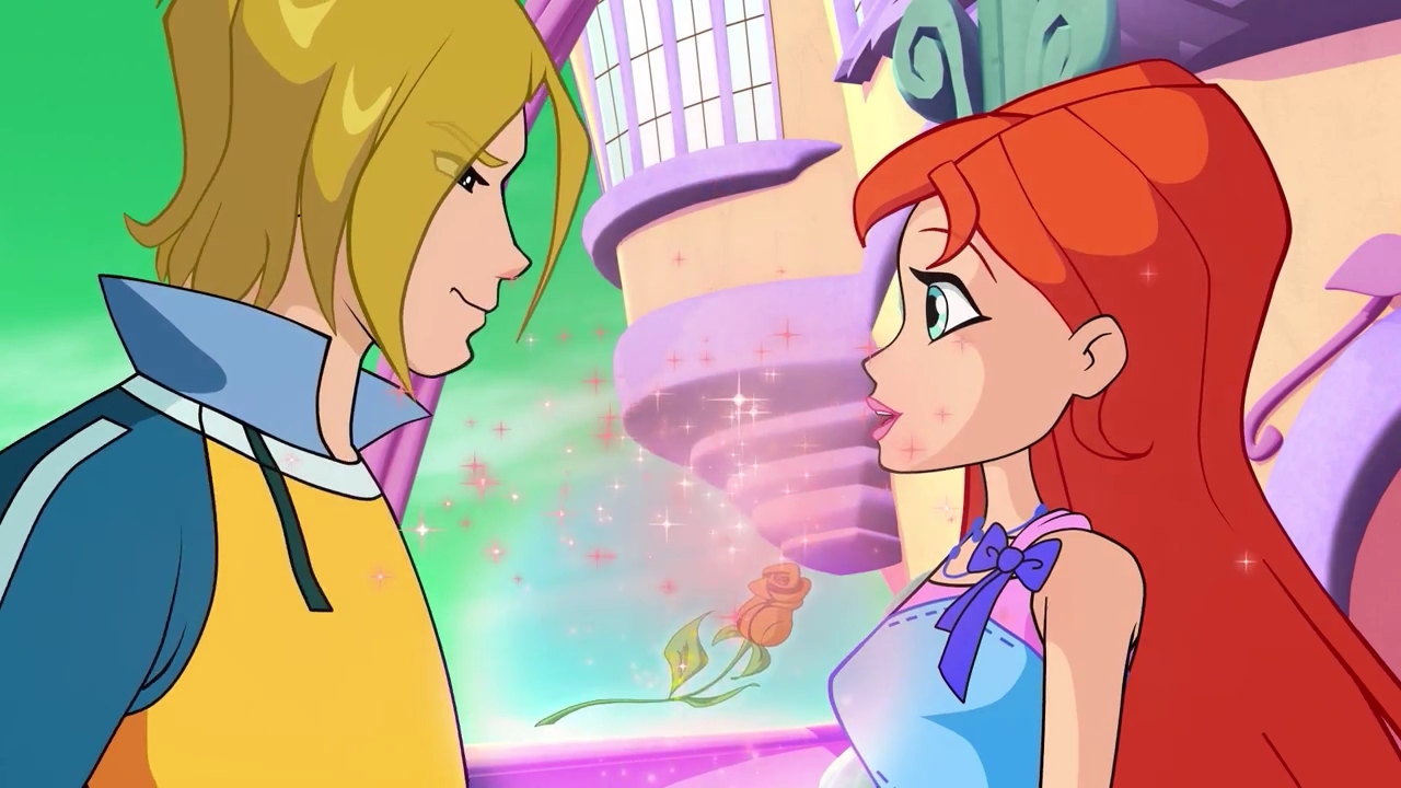Winx club bloom and sky pregnant car tuning