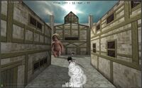 Attack on Titan Tribute Game screenshot