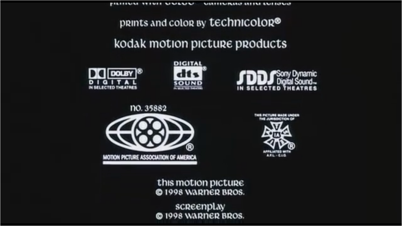 Mpaa Credits: The Magic Sword Quest For Camelot MPAA Number And