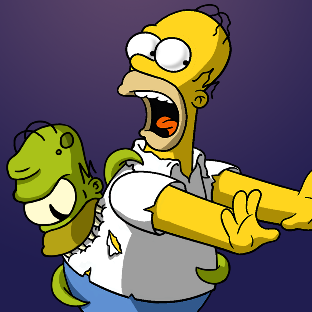 иконки симпсоны: