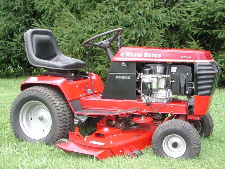 Wheel Horse Tractors : Wheel horse h tractor construction plant wiki