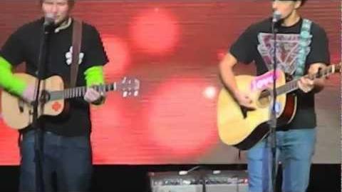 "ED SHEERAN & JASON MRAZ- ""Empire State of Mind"" - Jingle Ball 12 7 12"