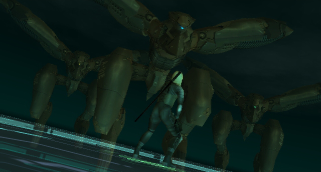 Gear Ray Three Unmanned Metal Gear Ray