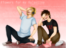 Flowers for my valentine a pewdiecry speed paint by membrillita-d6ocw06.png