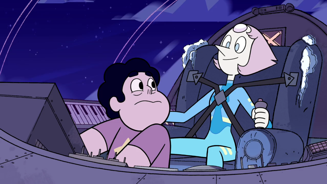 space race steven universe fan art -#main