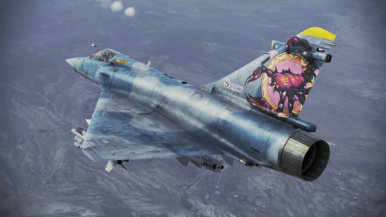 Mirage 2000 5 Scorpio Acepedia The Ace Combat Wiki