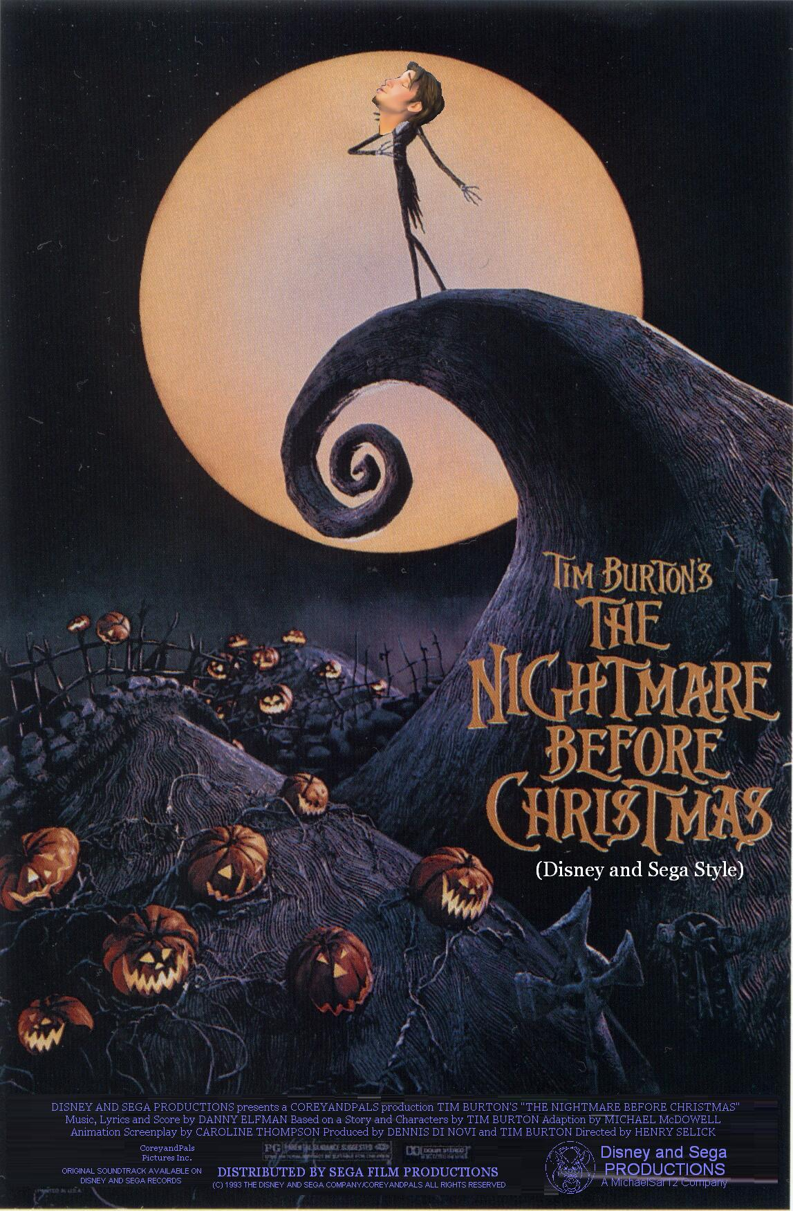 The Nightmare Before Christmas (Disney and Sega Style ...