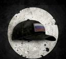 Головной убор с флагом России