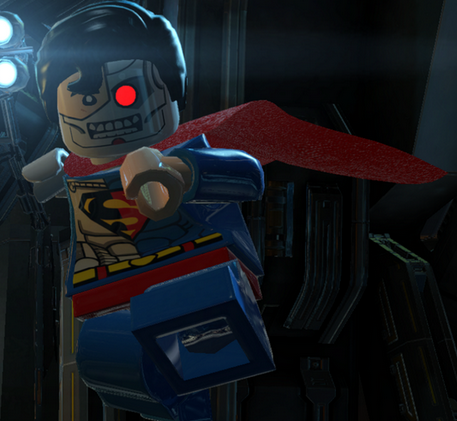lego batman 3 cyborg superman - photo #2
