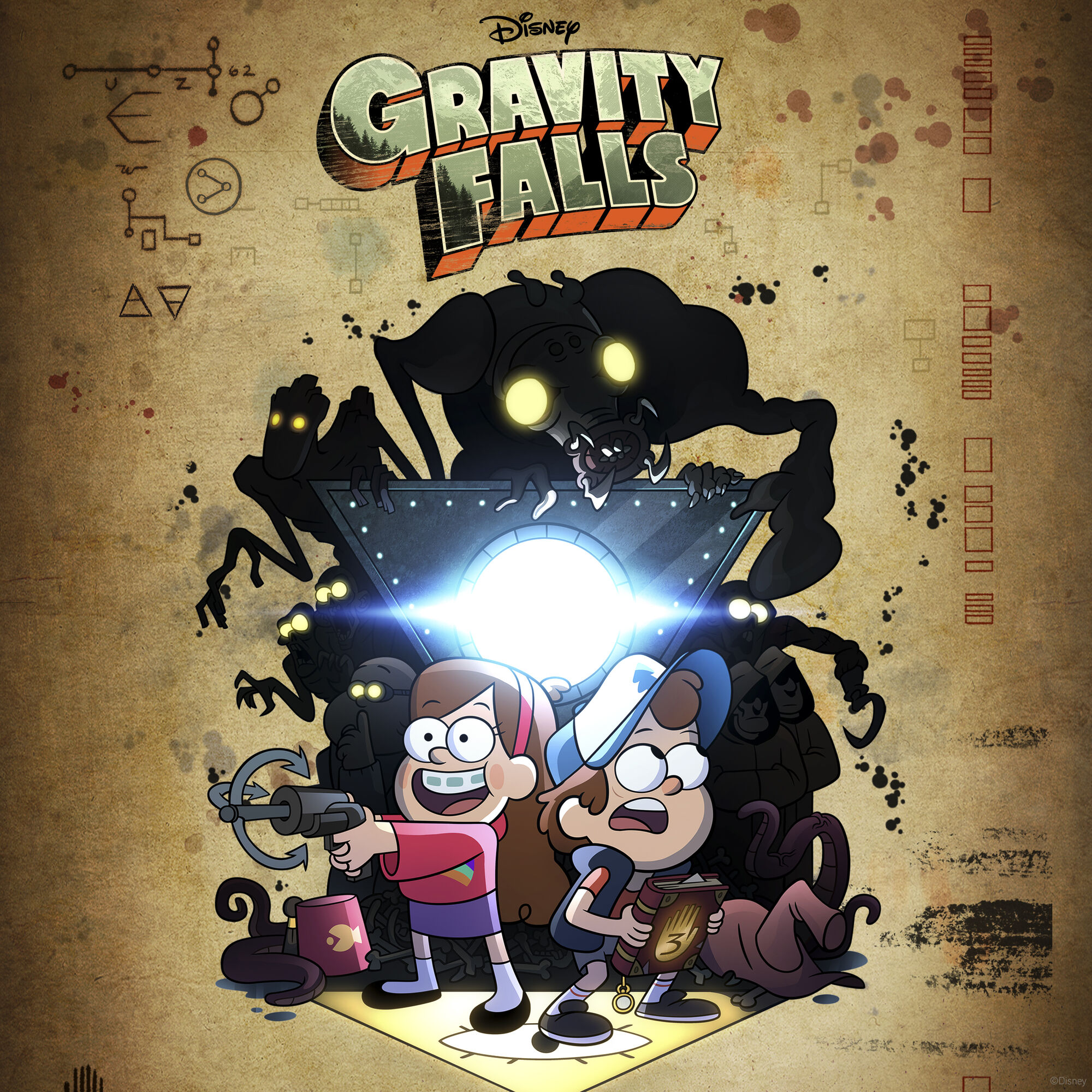 gravity falls website card season 1 - All Ages of Geek