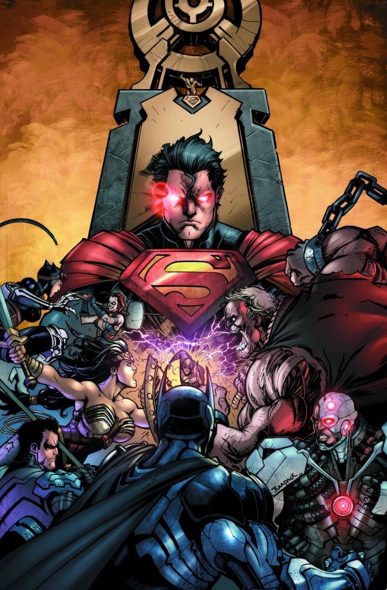 Daredevil Vs Deathstroke Injustice_Gods_Among_U...