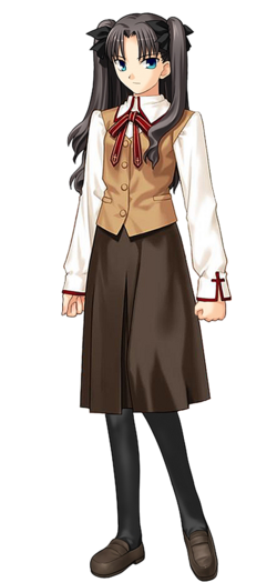 Tohsaka rin school uniform
