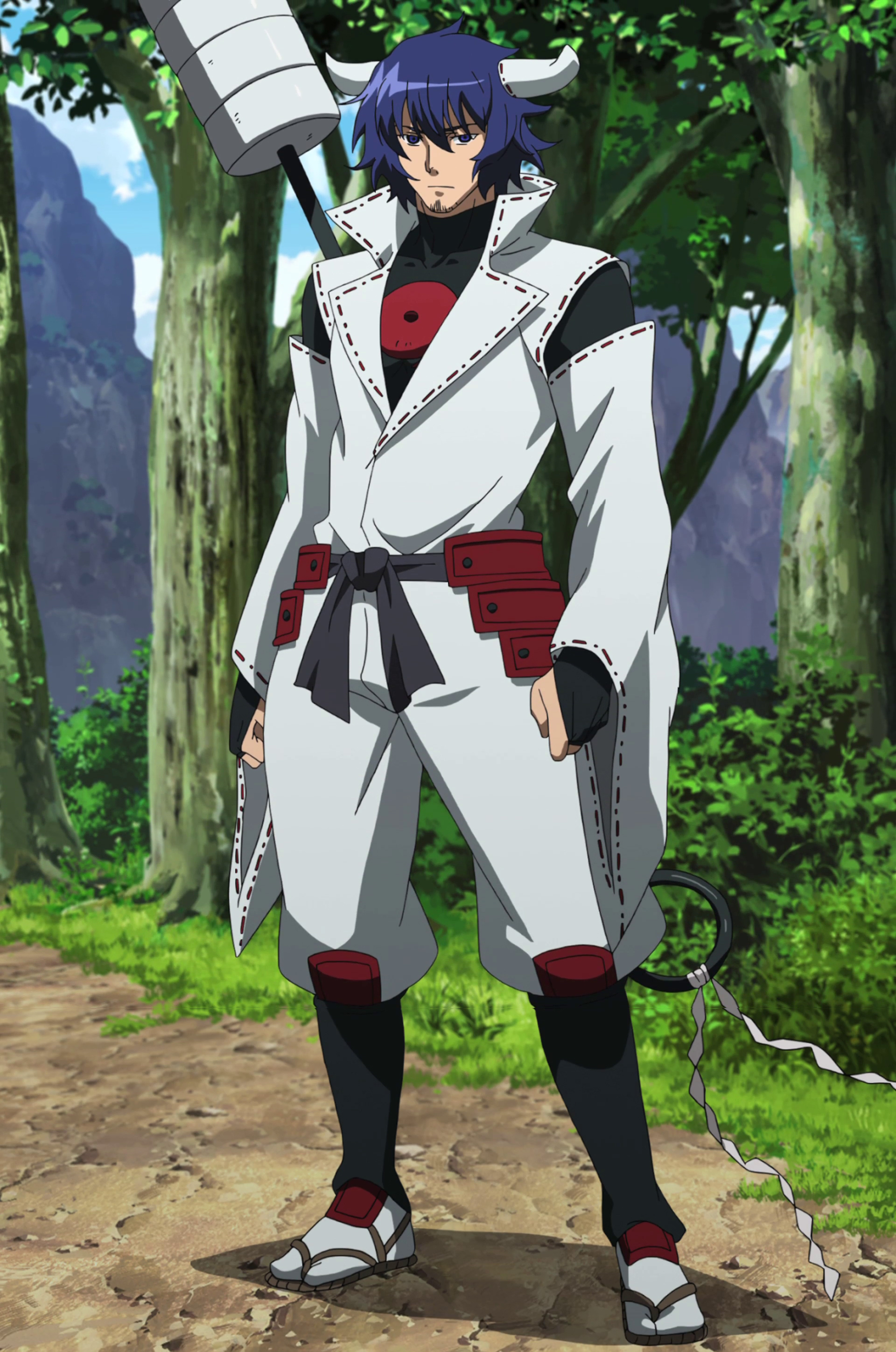 Red White Black Yellow (RWBY) RP Susanoo_Full_Body_View