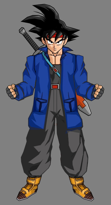 Future Goku(Dragon Ball X) - Dragonball Fanon Wiki