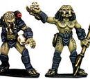 Hunter Aliens (Copplestone Castings)