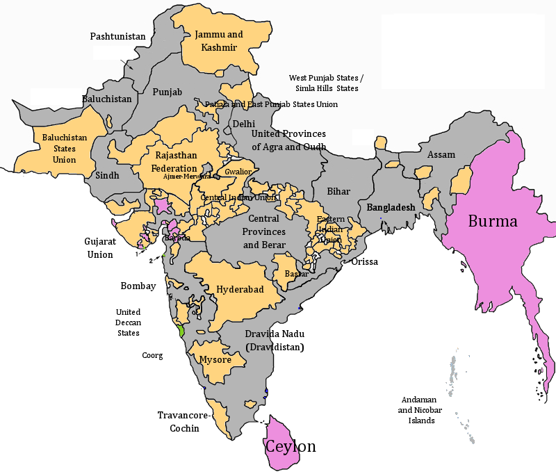 the economic status of india and pakistan under british rule During the mughal period (1526–1858) in the 16th century, the  an estimate of  india's pre-colonial economy puts the annual  top rank to become the second- largest economy in the world.