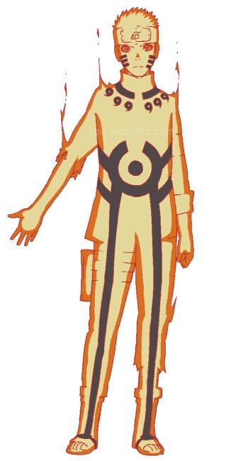 naruto bijuu mode the last minecraft skin