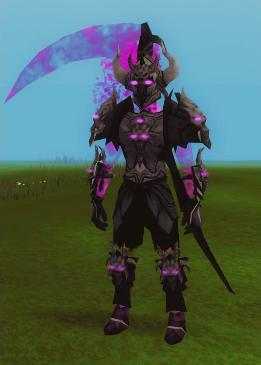 Image - Malevolent armour set (shadow) equipped.png - The ...